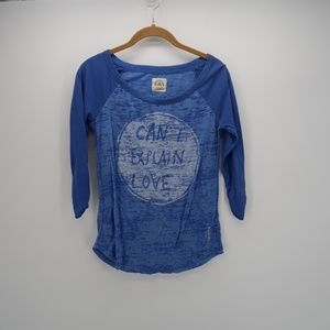 American Eagle Outfitters 3/4 Sleeve T-Shirt Top
